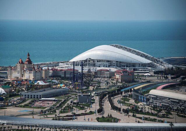 Lo stadio Fisht di Sochi