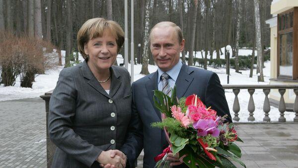 Grazie dei fiori, presidente! - Sputnik Italia