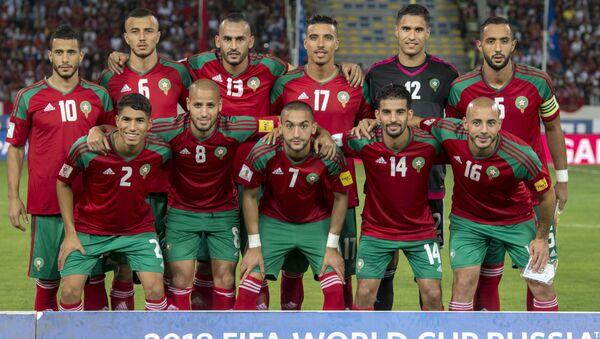 La nazionale marocchina - Sputnik Italia