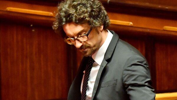 Il ministro delle Infrastrutture e trasporti Danilo Toninelli - Sputnik Italia