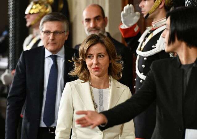 Il ministro della Sanità Giulia Grillo