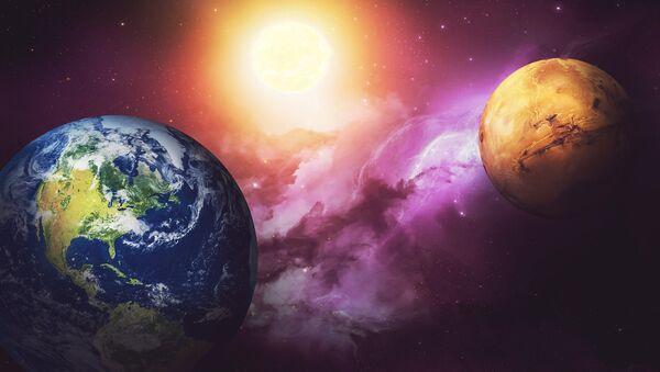 Earth and Mars - Sputnik Italia