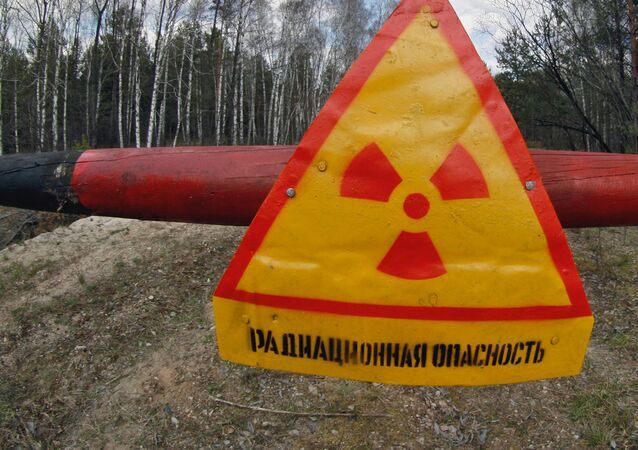 Chernobyl nuclear plant restricted zone