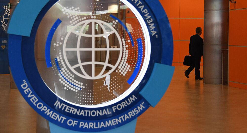 Il Forum internazionale sullo sviluppo del parlamentarismo