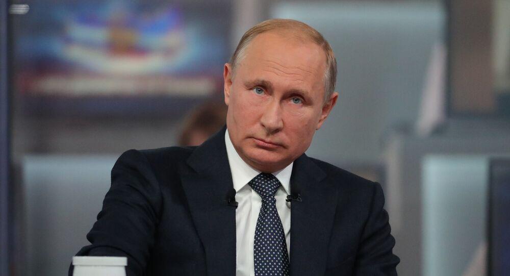 La linea diretta del presidente Putin