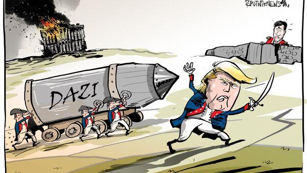Trump ha ricordato al primo ministro del Canada l'incendio della Casa Bianca - Sputnik Italia