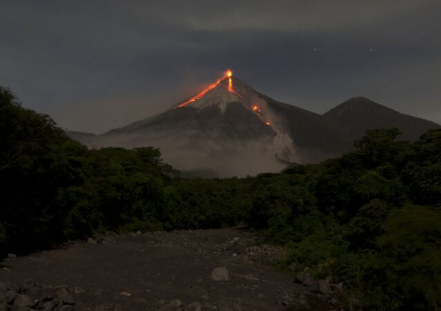 Il Volcan de Fuego in Guatemala (foto d'archivio)