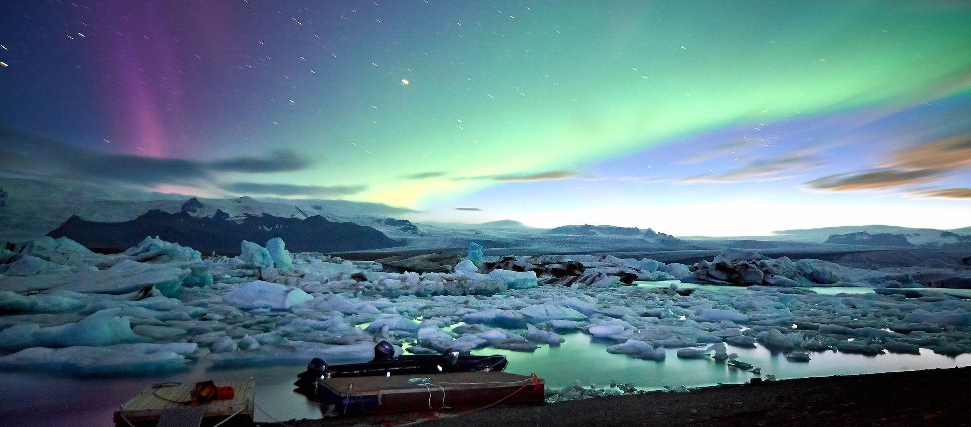 Islanda, Jokulsarlon glacier lagoon  - Sputnik Italia, 1920, 17.08.2019