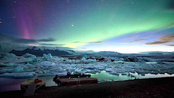 Islanda, Jokulsarlon glacier lagoon  - Sputnik Italia