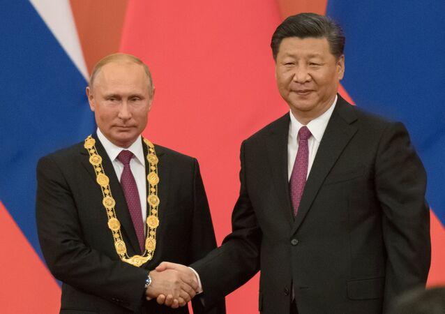 La visita di stato del presidente russo Putin in Cina