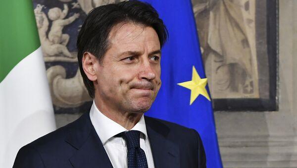 Il premier dell'Italia Giuseppe Conte - Sputnik Italia