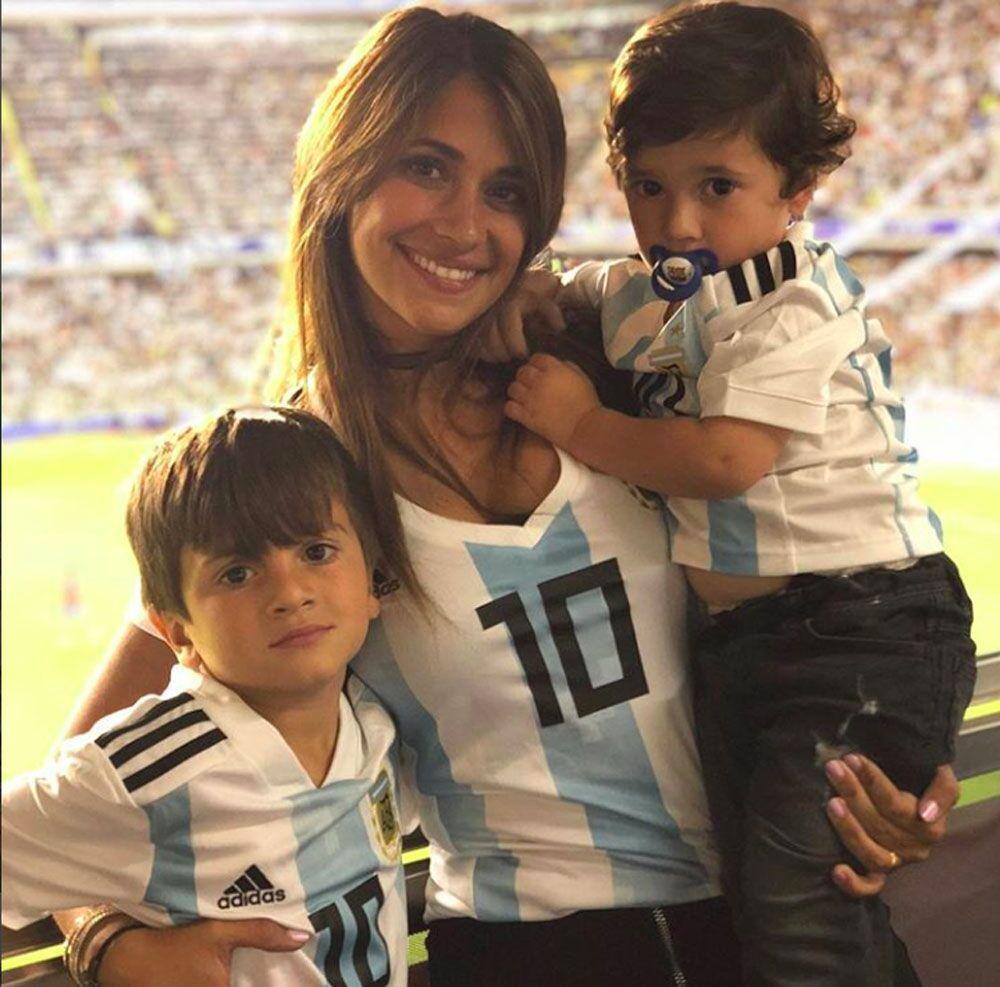 Le mogli più sexy dei calciatori dei Mondiali 2018.