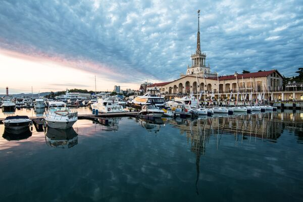 Una stazione marittima a Sochi. - Sputnik Italia