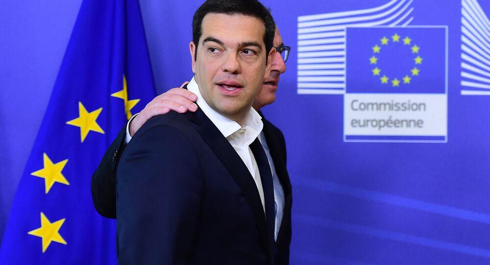 Alexis Tsipras e Jean-Claude Juncker