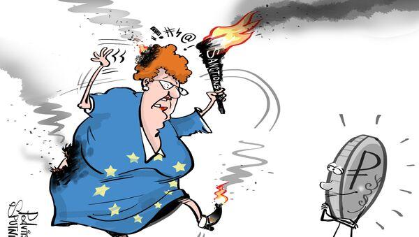 Danni dell'Occidente a causa delle sanzioni più grandi di quelli ufficiali. - Sputnik Italia