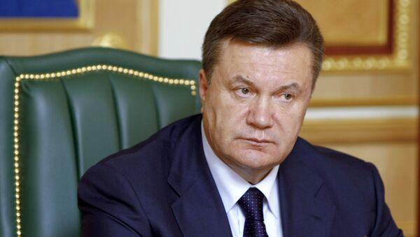 Viktor Yanukovych, l'ex-presidente ucraino. - Sputnik Italia