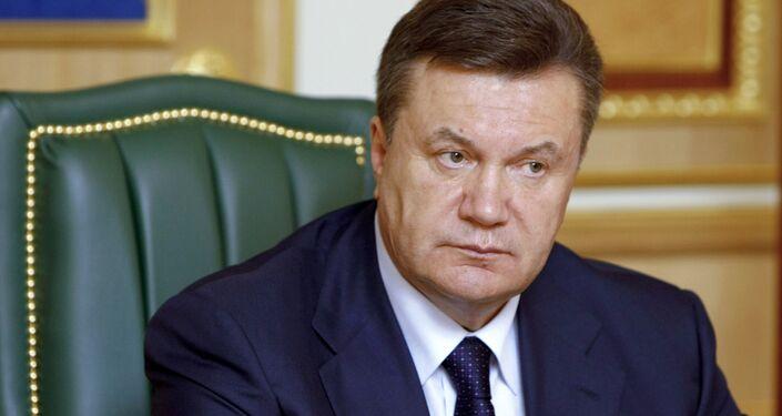 Viktor Yanukovych, l'ex-presidente ucraino.