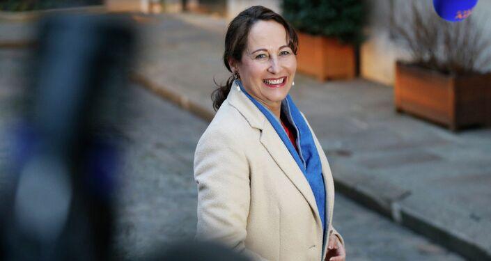 Ségolène Royal, la ministro dell`Ecologia e dello Sviluppo sostenibile