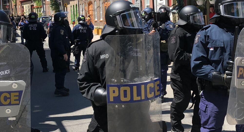 Proteste a Quebec durante il vertice G7