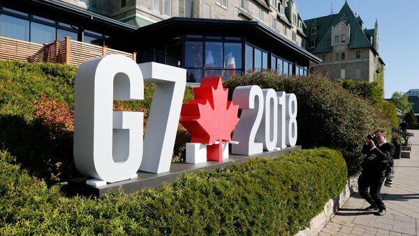 Logo del Summit G7 - Sputnik Italia