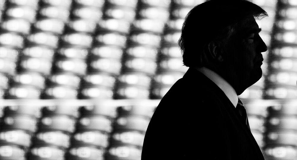 Il presidente statunitense Donal Trump