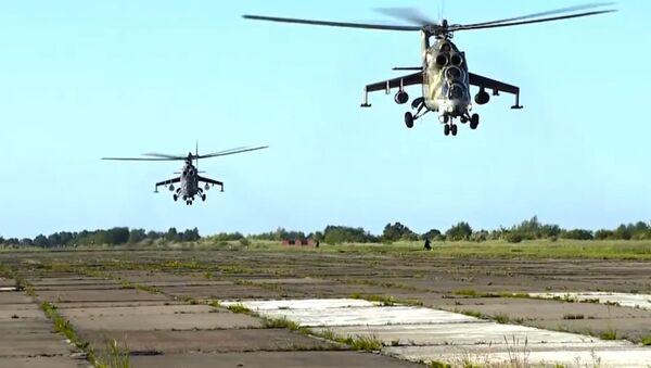 Esercitazioni degli elicotteri - Sputnik Italia