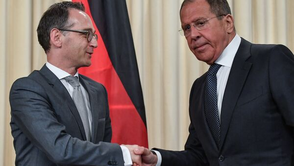 Heiko Maas e Sergej Lavrov - Sputnik Italia
