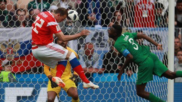Soccer Football - World Cup - Russia vs Saudi Arabia - Sputnik Italia