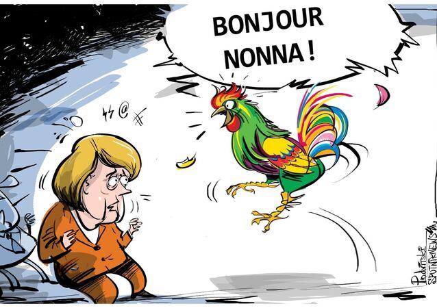 Macron vuole il francese come lingua principale dell'UE