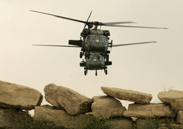 Gli elicotteri Black Hawk Usa