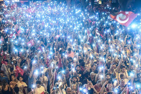 La manifestazione a favore del candidato alla presidenza delle Turchia dal Partito popolare repubblicano. - Sputnik Italia