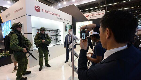 International Exhibition of Arms and Military Equipment Eurosatory. File photo - Sputnik Italia