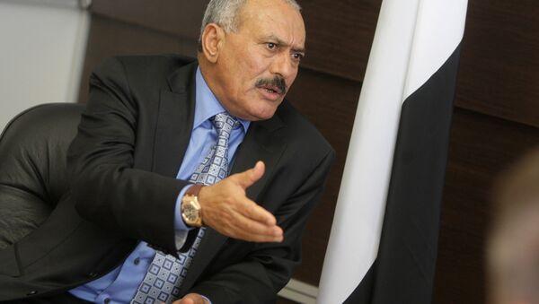 Yemeni President Ali Abdullah Saleh - Sputnik Italia