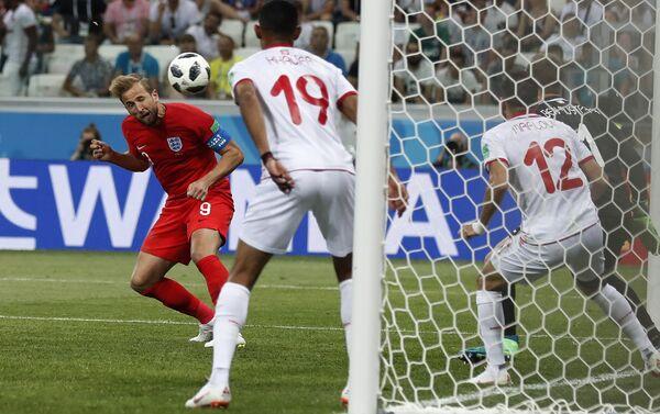 Il gol con cui Harry Kane ha regalato alla nazionale inglese la vittoria contro la Tunisia - Sputnik Italia