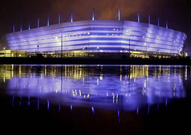 Lo stadio di Kaliningrad