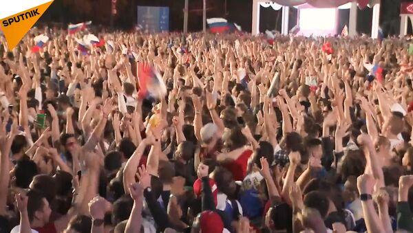 Migliaia di tifosi in tutta la Russia - Sputnik Italia