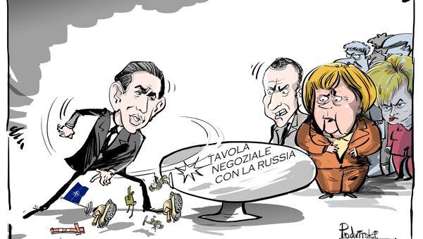 Vienna durante la sua presidenza all'Unione Europea intende lavorare sullo sviluppo delle relazioni con Mosca, è stato dichiarato nel programma della presidenza austriaca, presentato a Bruxelles, che inizierà il 1° luglio. - Sputnik Italia