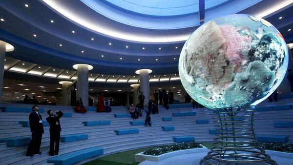 All'interno dello complesso di scienza e tecnica a Pyongyang. - Sputnik Italia