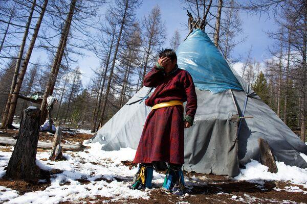 Vita vera: gli allevatori di renne in Mongolia - Sputnik Italia