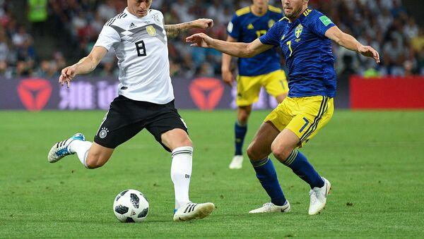 World Cup - Group F - Germany vs Sweden - Fisht Stadium, Sochi, Russia - June 23, 2018 - Sputnik Italia