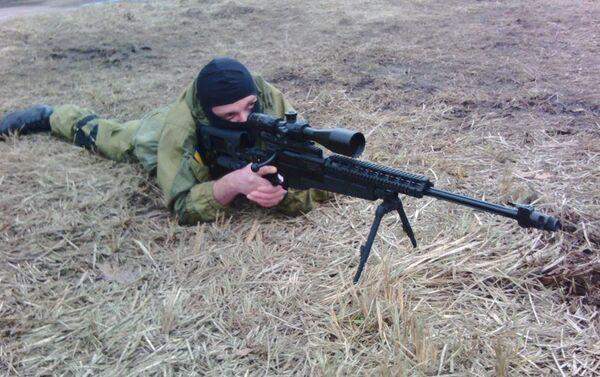 La base del reggimento Azov a Kiev. Sergey Sanovsky. - Sputnik Italia