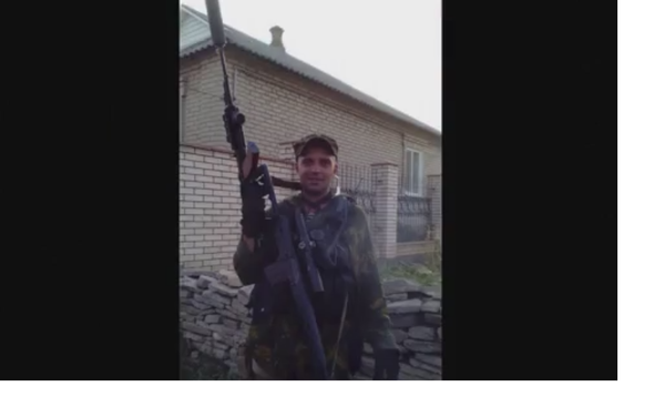 Qualche giorno prima dell'assalto di Ilovaysk, Starabashevo, 2014. Sergey Sanovsky. - Sputnik Italia