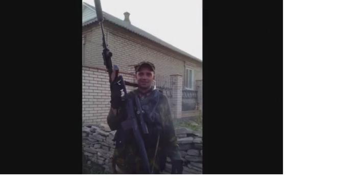 Qualche giorno prima dell'assalto di Ilovaysk, Starabashevo, 2014. Sergey Sanovsky.