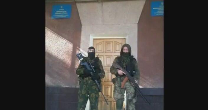 Il vilaggio Noviy Svet, la regione di Donetsk.