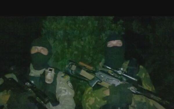 Preparazione per l'assalto di Maryinka, 2014. I cecchini del reggimento Azov. - Sputnik Italia