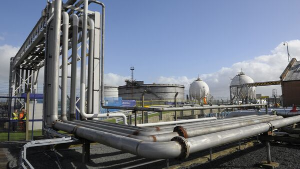 General views of the INEOS plant in Grangemouth as the first shipment of shale gas from the United States arrived in Britain. (File) - Sputnik Italia