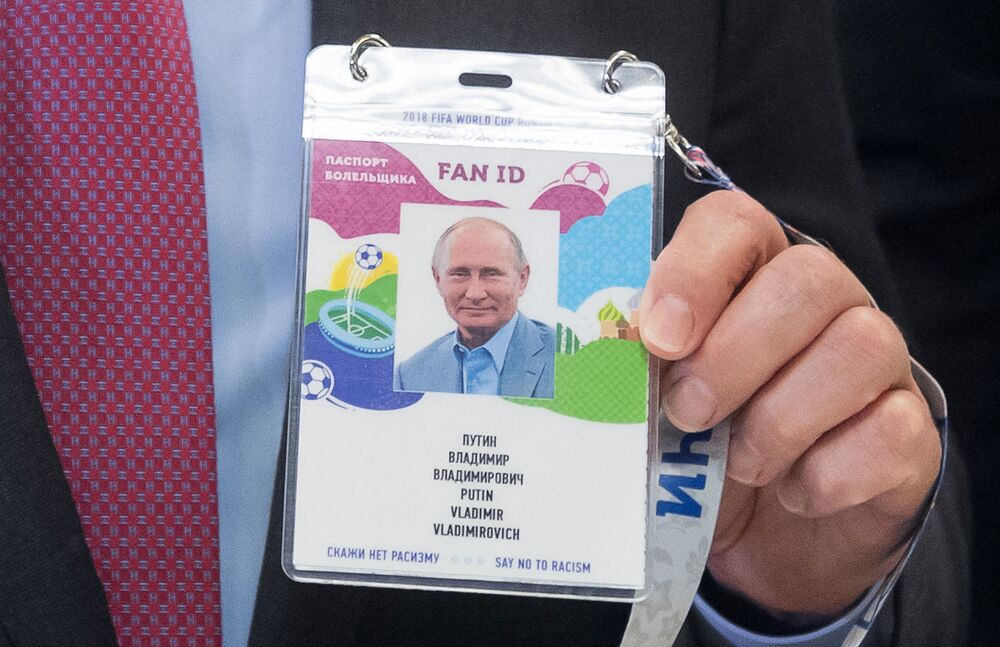Putin e il calcio