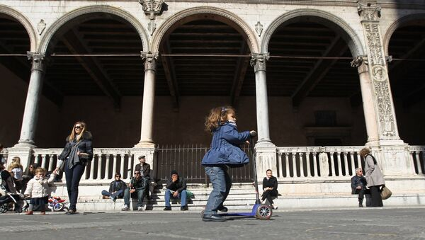 Verona, Piazza dei Signori - Sputnik Italia