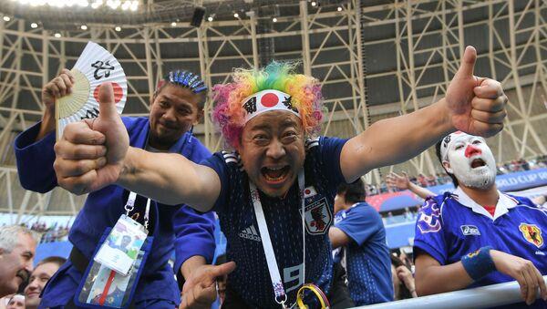 Tifosi giapponesi al Mondiale in Russia - Sputnik Italia