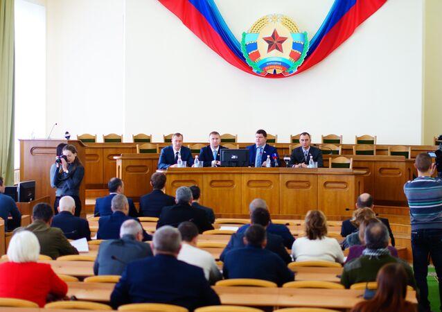 Il Consiglio Popolare di Lugansk